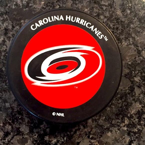 Carolina Hurricanes NHL Puck